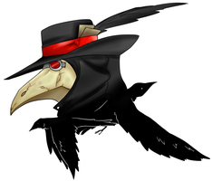 plague doctor by PeppermintBat