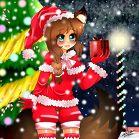 Merry Christmas 2015 by ChaChoou-Chan