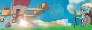 The Wind Rises Tribute by PostImpressionist