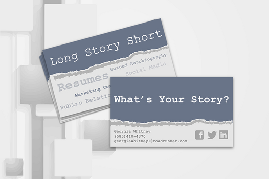 Long Story Short: Business Card by ZacharyStraub