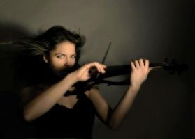 lal on violin II by mayalale