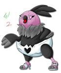 SS Pokedex: #629 Vullaby by Waver92