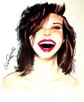 Portrait Of A Jovovich by TWObyKAY