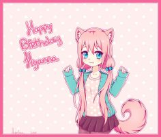 {Gift/speedpaint} Happy birthday Hyan! by Leniuu