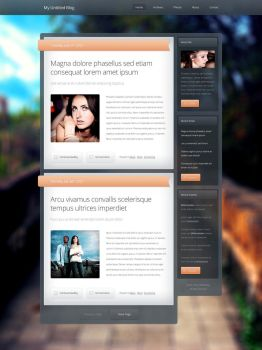 Glassy Blog Theme by nodethirtythree