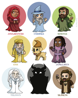 The Wizards of Foon by ErinPtah