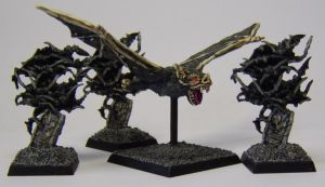 MORDHEIM Giant Bat and Bat Swarms by FraterSINISTER