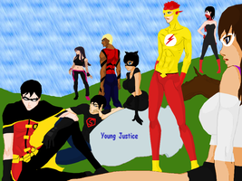 Young Justice by Fireneko6