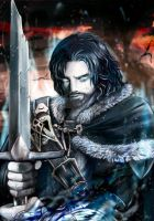 Talion, Shadow of Mordor by NecroNaglfar