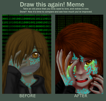 Draw this again! - Infected by TheMidnightMage
