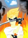 Dirk Strider moment before entering the game by SweetDisposition2