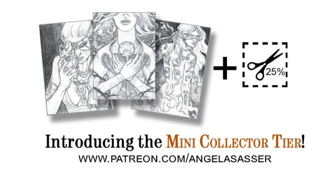 NEW Patreon Tier: The Mini Collector by AngelaSasser