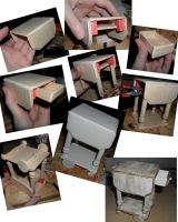 Tea Cart WIP and Final Result by kayanah