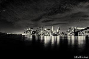 A Black and White City by MJKam11