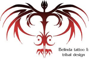 Tribal Dragon by Quartet-Maxwell