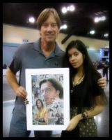 Me and Kevin Sorbo by Catalina-Estefan
