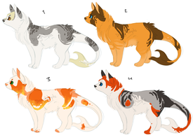 Adopt set 16 [CLOSED] by dizzyAdopts