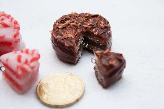 Polymer Clay Cakes by Tharanthiel