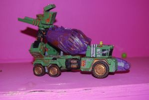 war for cybertron mixmaster 2 by Shenron-Customs