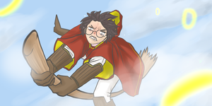 Harry Has Flying Problems by peppermintjam