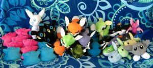 Megaplex Plush Sale by Patchwork-Shark