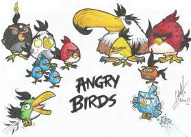 Angry Bids by Mr-Selman-Domagk
