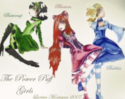 The Power Puff Goths by Malloriel
