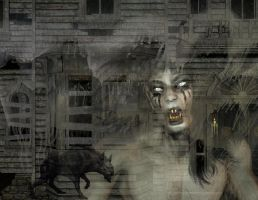 Hell House art by mysticmorning