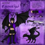 Kyoukimi Reference Sheet by QuantumNightmare