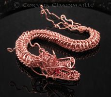 Copper Dragon 3 by Corvus303
