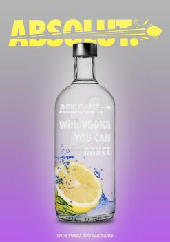 With vodka , you can dance by Heshamshakarchi