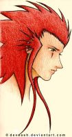 Axel from KH by devsash