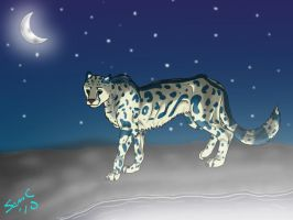 Moon Glow Cheetah by gar-a-ash