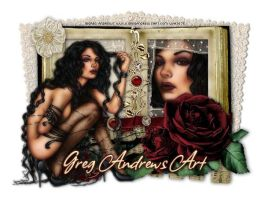 Greg Andrews Art by LenasCreations