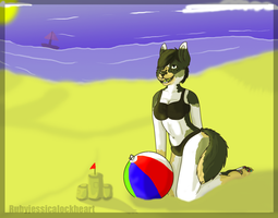 A day at the beach by Rubyjessicalockheart
