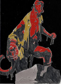 Hellboy by superfly72 by superfly72