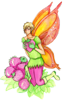 strawberry fairy by purple-mike-elf
