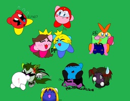 .:Collab:. The KIRBY collab!!! :closed: by DummyHeart