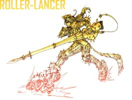 RollerLancer by UzukiNoKaze
