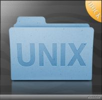 Leopard Folder Unix Icon by stenosis