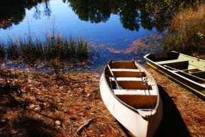 canoes by unbornagain