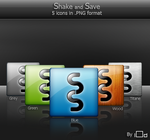 Shake and Save icon by i0d