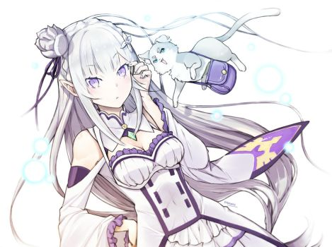 Emilia and Pack by gigiEDT