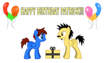Patrick's Birthday Present 2015 by LGee14