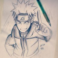 Happy Birthday Naruto by ShelindaArt