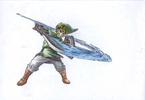 The  Legend of Zelda Skyward Sword - Link by NaruMikuLink99