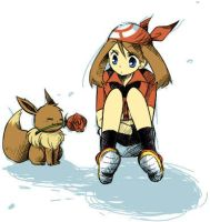 May and Evee 2 by Emperor1580
