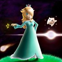 Super Princess Rosalina by StripedPower