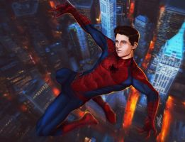 Spider-man The new Avenger by sia1965pak