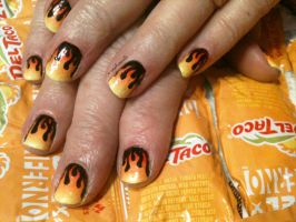 20130302 Hot Rod Flames (Freehand) by m-everhamnails